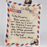 To My Family, Love Mom Blanket
