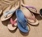 CONRAD™ - THONG SANDALS WITH BUCKLE DETAIL
