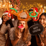 CHRISTMAS SALE - 50% OFF - Reindeer Antler Ring Toss Game