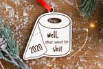Unique Wooden Christmas Ornament for 2020!