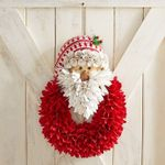 Amazing Handcrafted Santa Wreath - Best Seller