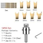 Premium Beads Drill Bits (16 Pcs Set)