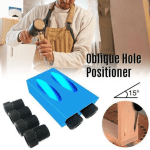 Angle Drill Guide Woodworking Tool Puncher Positioner (11 Pcs Set)