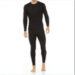 Lightweight Fleece Lined Set of Thermal Underwear for Men