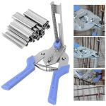 Hog Ring Plier with 600pcs M-shaped Clips