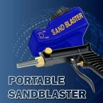 Portable Sand Blaster Gun for DIY and Pro Projects