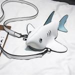 The Original Shark Crossbody Leather Bag - Best Seller