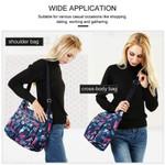 Multi-Pocket Waterproof Lightweight Crossbody Shoulder Bag