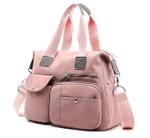 Multi-Pocket Large Capacity Hobo Shoulder Crossbody Handbag