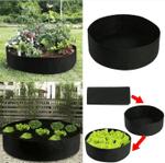 Smart Fabric Raised Garden Bed for Flowers, Vegetables, Plants