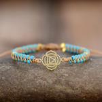 "Turquoise & Howlite ""Muladhara"" Bracelet"