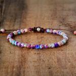Handmade Jasper Stones Bracelet