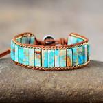 Turquoise Jasper Energy Bracelet