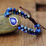 Lapis Lazuli Energy Bracelet