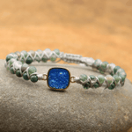Jade & Opal Mini Gemstone Bracelet