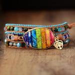 Healing Chakra Heart Wrap Bracelet