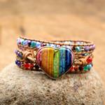Chakra Love Protection Wrap Bracelet