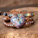 Healing Jasper Love Wrap Bracelet