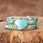 Serene Love Protection Wrap Bracelet
