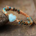 From the Heart Amazonite Bracelet