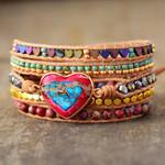 Love Abundance Wrap Bracelet