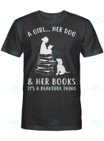 A Girl ... Her Dog And Her Books It's A Beautiful Thing