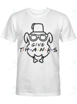 FRIENDS - Thanksgiving Turkey Head - Give Thanks