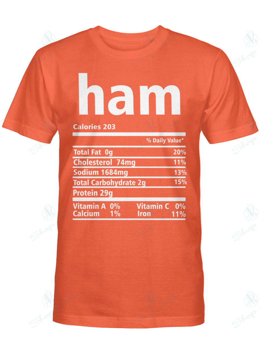 Nutrition Facts Ham