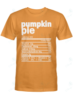 Nutrition Facts Pumpkin Pie