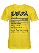 Nutrition Facts Mashed Potatoes