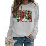 Cute Snowman Print Hoodies Sweatshirt