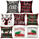 Christmas Cushion Cover 45x45 Printed Polyester