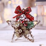 Merry Christmas Wreath Home Decorations