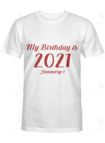 My birthday is 2021 January 1