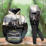 Trucker Hoodie and Legging Set