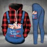 A Girl Who Loves Pigs Country Legging and Hoodie