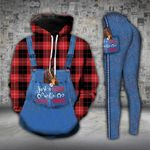 A Girl Who Loves Horse Legging and Hoodie Set