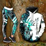 Nora Teal Country Girl Legging and Hoodie
