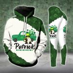 Gnome Gold Lucky Shamrock Truck Legging and Hoodie Set