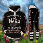 Nana Nana Nana Fullname Legging and Hoodie Set