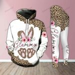 Glammy Bunny Leopard Legging and Hoodie Set