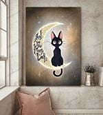 Cat I Love You Canvas