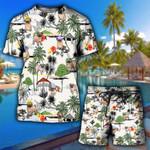 Pug Hawaii Summer TShirt and Hoodie (buy 2 for discount)