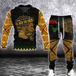 Black Father Hoodie Sweatpant Set