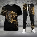 Stepped Up Dad Tshirt and Sweatpants Set