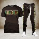 Dadalorian Tshirt and Sweatpants Set