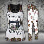 Sewing Sewing Is My Therapy Legging Set