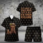 Father Figure (2 Kids) Hawaii Shirt and Short Set