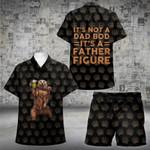 Father Figure (1 Kid) Hawaii Shirt and Short Set