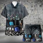 Hairstylist A Good Stylist Hawaii Shirt and Short Set